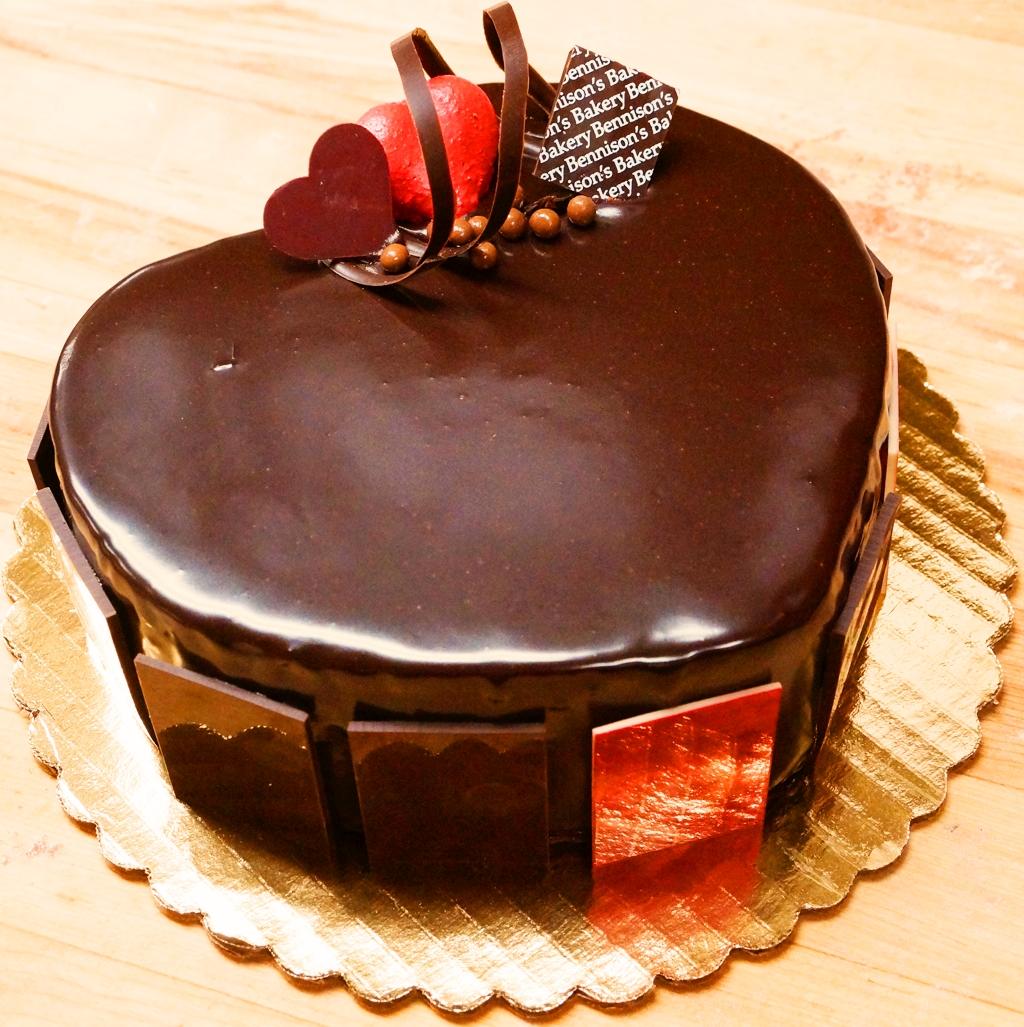 tort inimioara de ciocolata