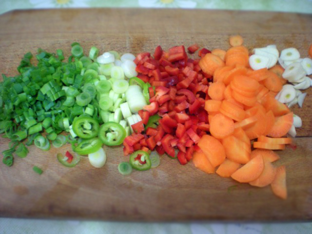 ingrediente mazare tocate