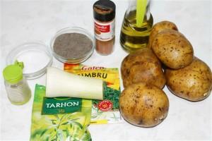 ingrediente cartofi la cuptor