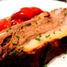 friptura de porc cu coaste