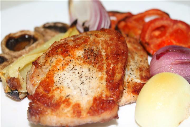 cotlet de porc la cuptor