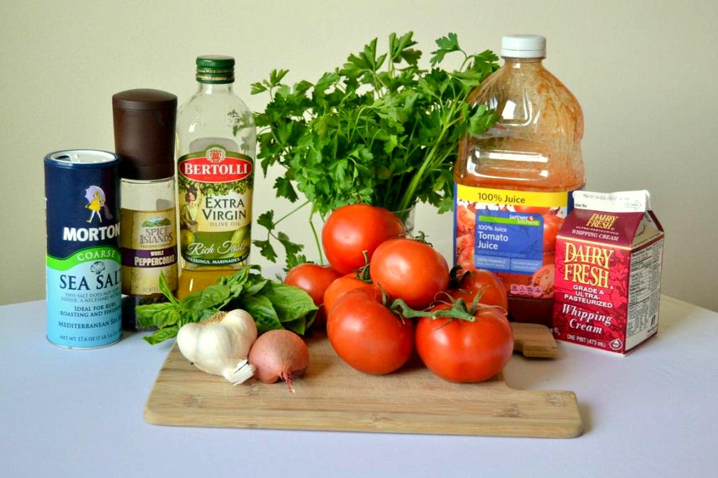 ingrediente supa de rosii