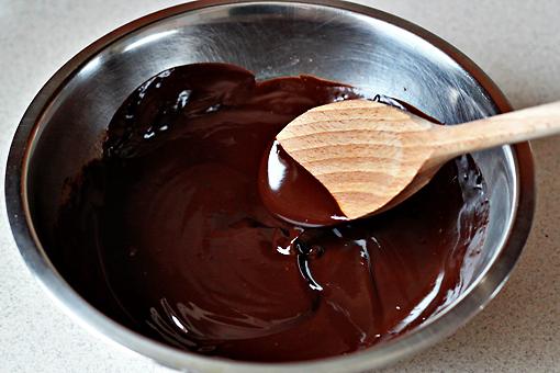 ciocolata si unt topit